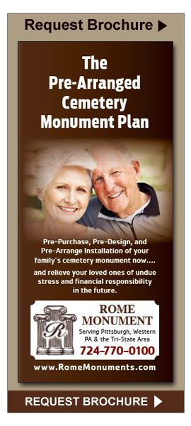 Request the Pre-Arranged Cemetery Monument Plan Brochure