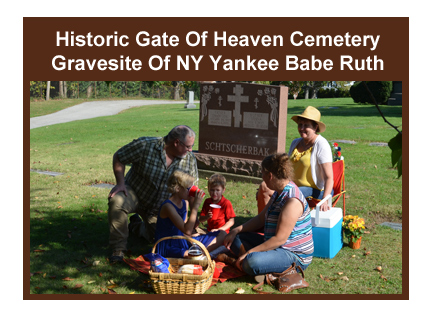 Historic Gate Of Heaven Cemetery - Westchester County NY