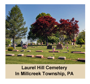 Laurel Hill Cemetery in Millcreek Township, PA
