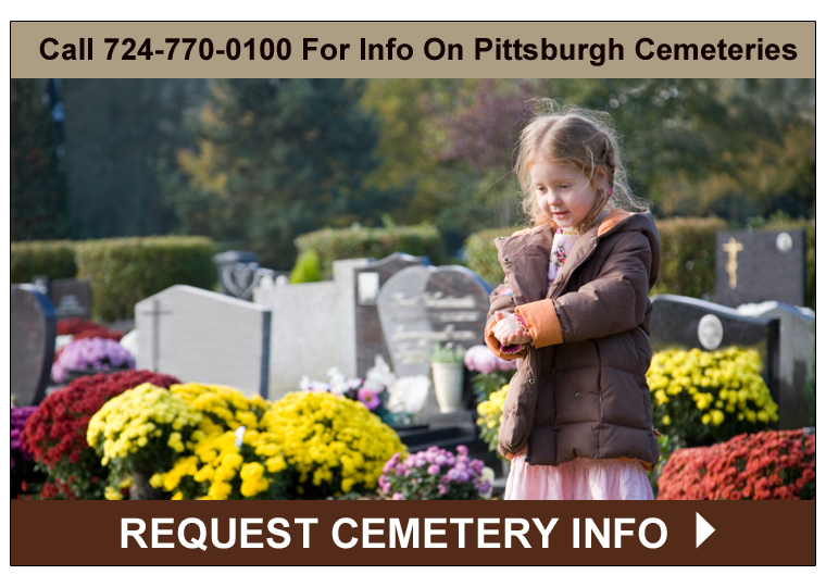 Picture of a Pittsburgh Cemetery - Click to Request Pittsburgh Cemetery Information from Rome Monument
