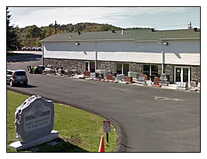 Rome Monument Tri-Boro Showroom in Zelienople, PA