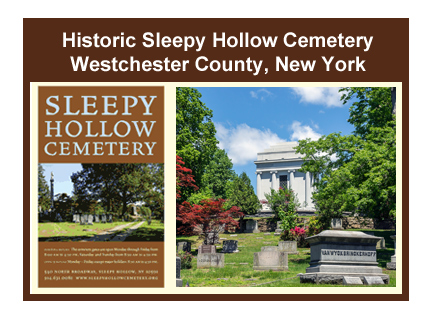 Visit the website for the Sleepy Hollow Cemetery, County of Westchester in New York.