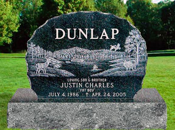 Monument Designed For Dunlap Family Rome Monument
