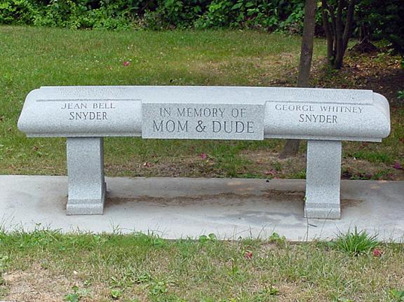 Memorial Benches For Pittsburgh Cemeteries Rome Monument