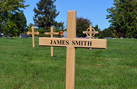 Temporary crosses to mark graves for sale in pittsburgh for Temporary office roma
